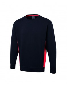 Uneek Clothing UC217 - Navy/ Red