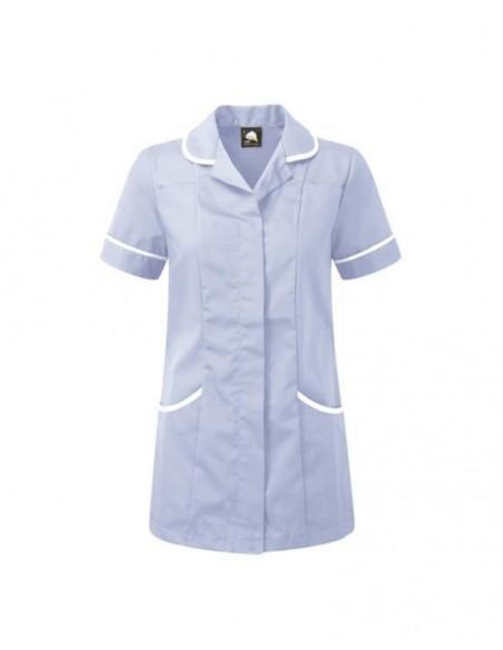 ORN Clothing Florence Tunic - Sky Blue / White