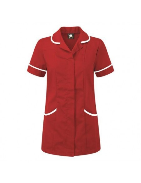 ORN Clothing Florence Tunic - Red / White