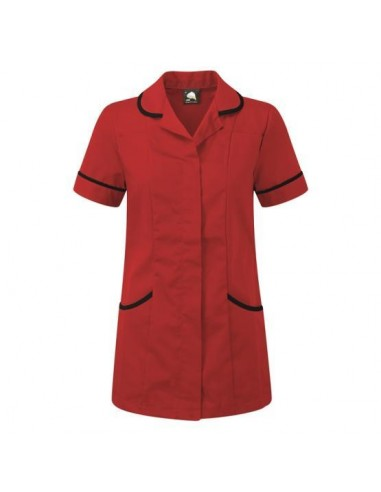 ORN Clothing Florence Tunic - Red / Navy