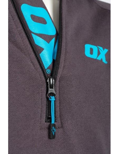 OX Workwear Over Head Hoodie - OX Logo