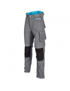 OX Workwear Ripstop Trousers - Grey