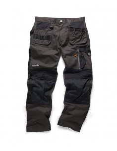 Scruffs 3D Trade Trousers (Graphite)