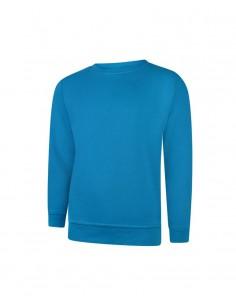 Uneek Clothing UC203 Classic Sweatshirt - Sapphire Blue