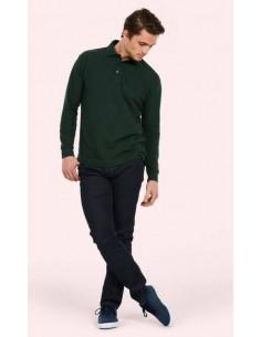 Uneek Clothing Longsleeve Poloshirt (UC113)