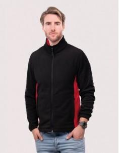 Uneek Clothing Two Tone Full Zip Fleece Jacket (UC617)