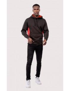 Uneek Clothing Two Tone Hooded Sweatshirt (UC517)