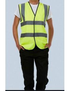 Uneek Hi-vis Sleeveless Safety Vest (UC801)