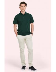 Uneek Clothing Active Poloshirt (UC105) - Bottle Green Lift Style Image
