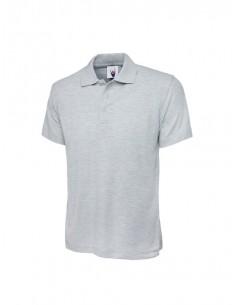 Uneek Clothing Active Poloshirt (UC105) - Heather Grey