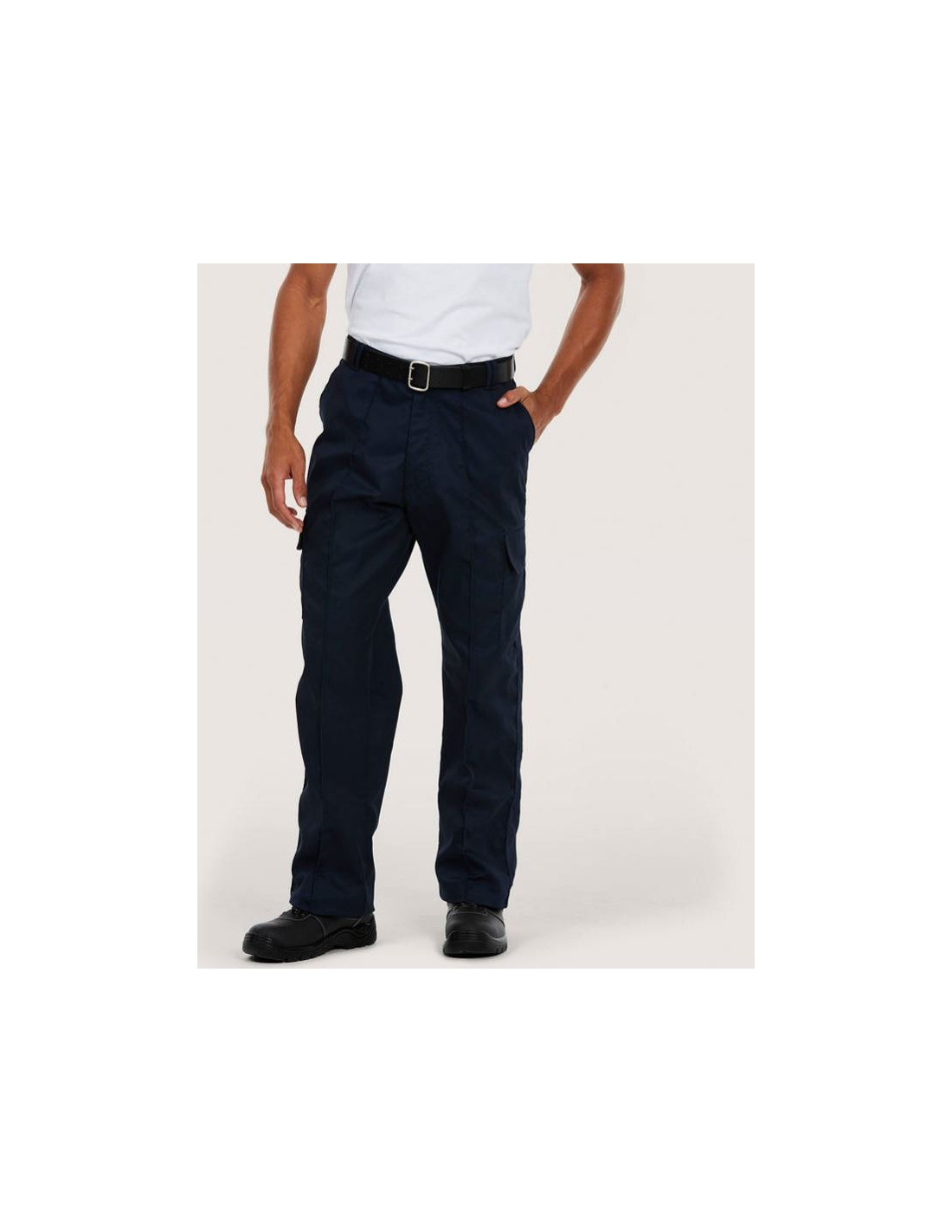 Cargo Brand New Uneek UC902 Workwear Combat Trousers Navy Size 32 Regular