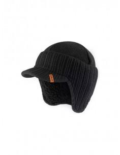 Scruffs Peaked Beanie Hat Black