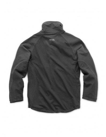Scruffs Trade Flex Softshell Jacket Back