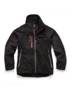 Scruffs Trade Flex Softshell Jacket Front
