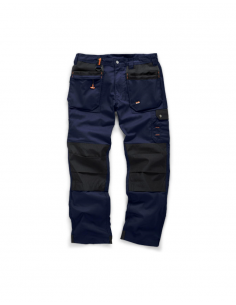 Scruffs Worker Plus Trousers (Navy)