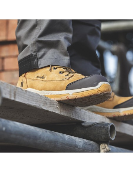 Scruffs Solleret Boot Life Style Image (Tan)