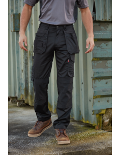 Tuffstuff 715 Proflex Work Trouser - Black Work Trousers