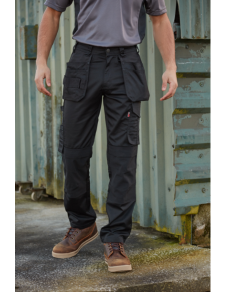 Tuffstuff 715 Proflex Work Trouser - Black Work Trousers