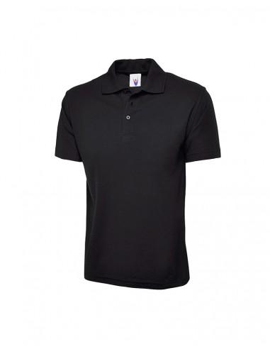 Uneek Clothing UC101 Classic Poloshirt - Black