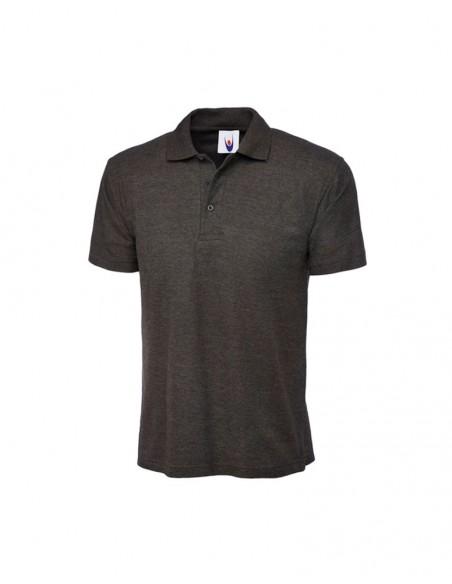 Uneek Clothing UC101 Classic Poloshirt - Charcoal