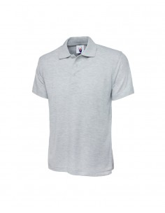 Uneek Clothing UC101 Classic Poloshirt - Heather Grey