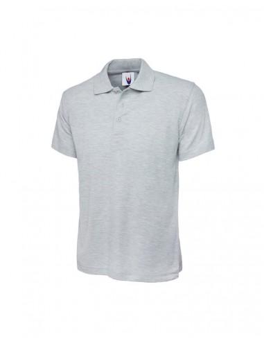 Uneek Clothing UC101 Classic Poloshirt - Heather Grey