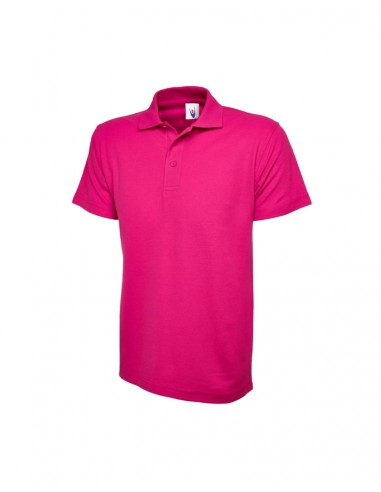 Uneek Clothing UC101 Classic Poloshirt - Hot Pink