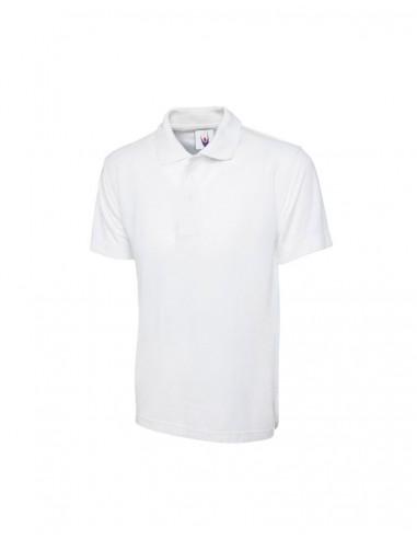 Uneek Clothing UC101 Classic Poloshirt - White