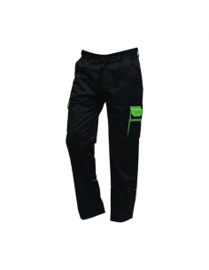 ORN Clothing Silverswift Two Tone Combat Trouser (2580) - Black / Lime