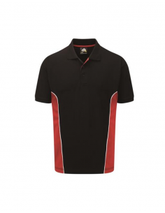 ORN Clothing Silverswift Two Tone Poloshirt - Navy / Red