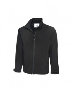 Uneek Clothing Premium Full Zip Softshell Jacket (UC611) - Black