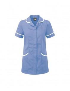 ORN Clothing Florence Tunic - Hospital Light Blue / White