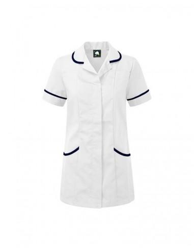 ORN Clothing Florence Tunic - White/ Navy
