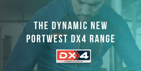 Now Available - The New Portwest Clothing DX4 Range